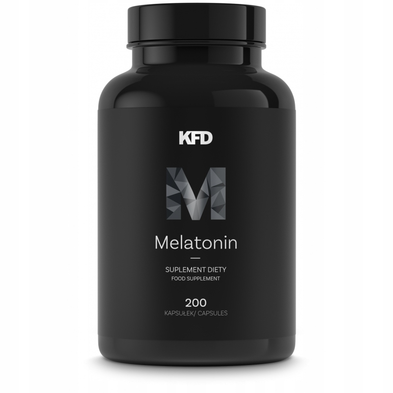 KFD MELATONIN - 200 Kapsułek - MELATONINA