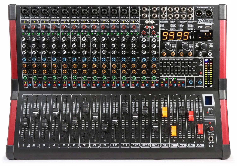 PowerMixer 16-kanálová dynamika PDM-S1604A