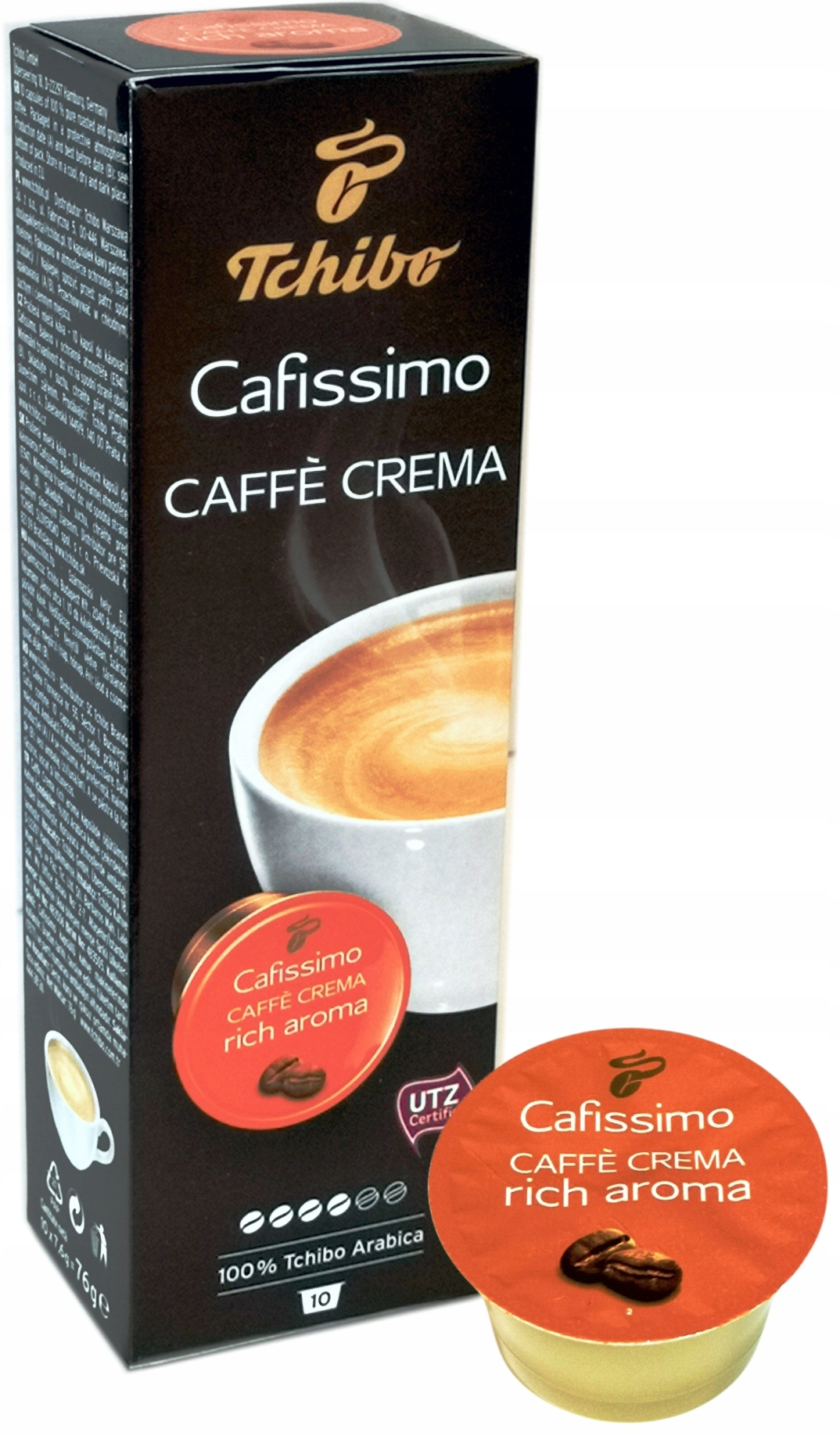 Tchibo CAFISSIMO CAFFE RICH AROMA 10 КАПСУЛ