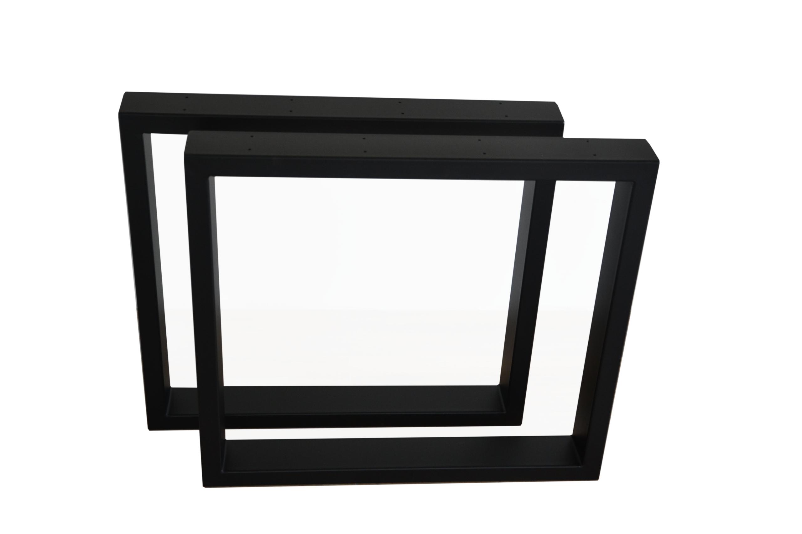 Podstawa do stołu noga metalowa 70x72 Profil 8x2cm