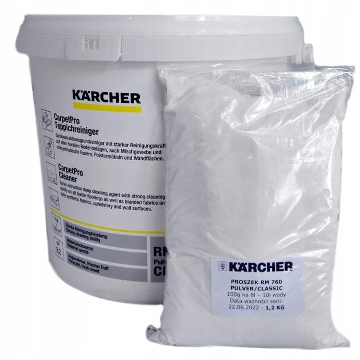 Proszek do prania dywanów KARCHER RM 760 1,2 KG