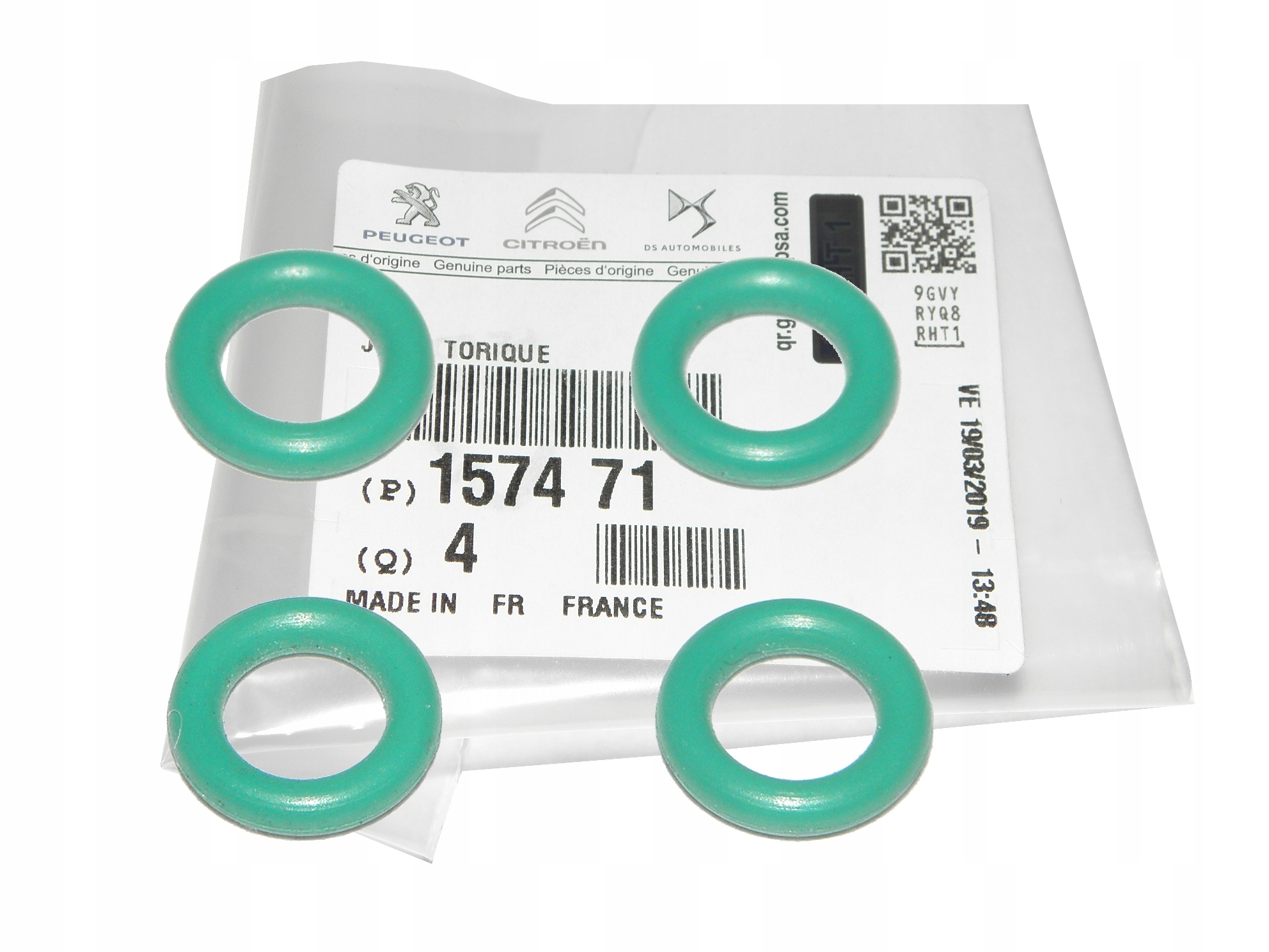 уплотнительное кольцо перевод инжектора peugeot 14 16 20 hdi
