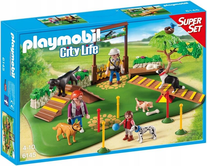 Playmobil 6145 Ihrisko pre psov s trénerom