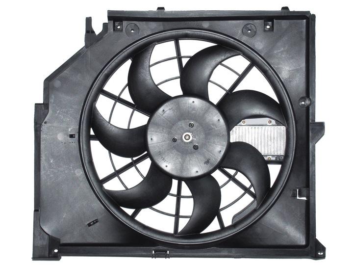 вентилятор радиатора bmw e46 20d 318d 318td 3pin