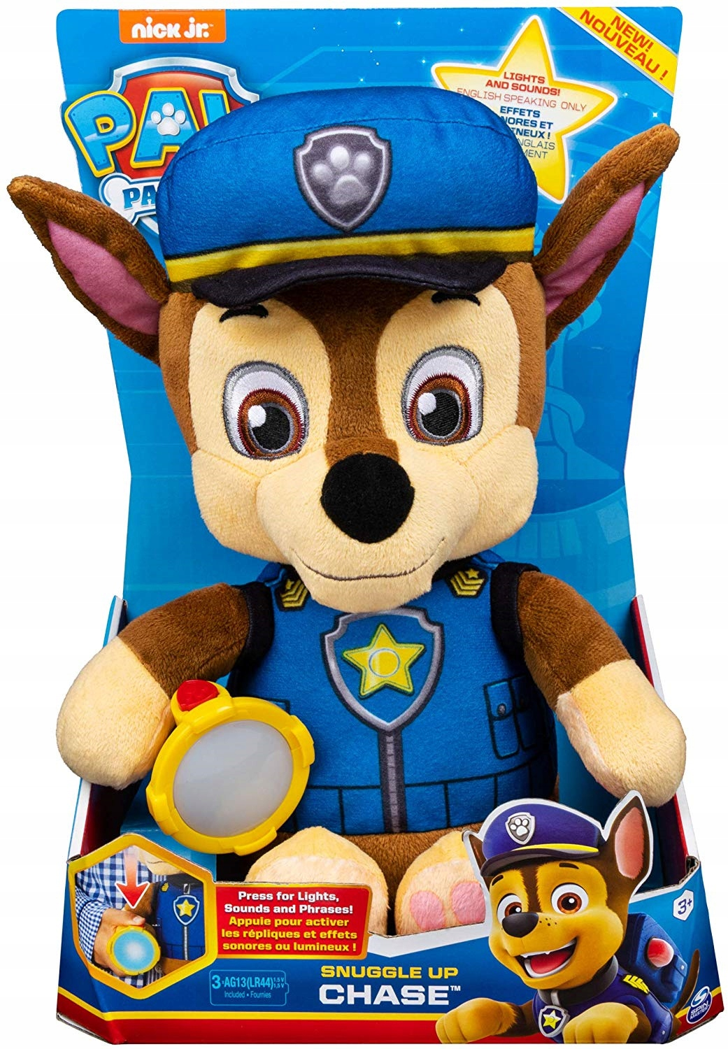 Maskot Paw Patrol 6054735 Chase Lit and Game 3+