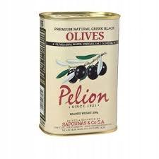 ПЕЛИОН, Гигантские черные оливки из Греции, 430г
