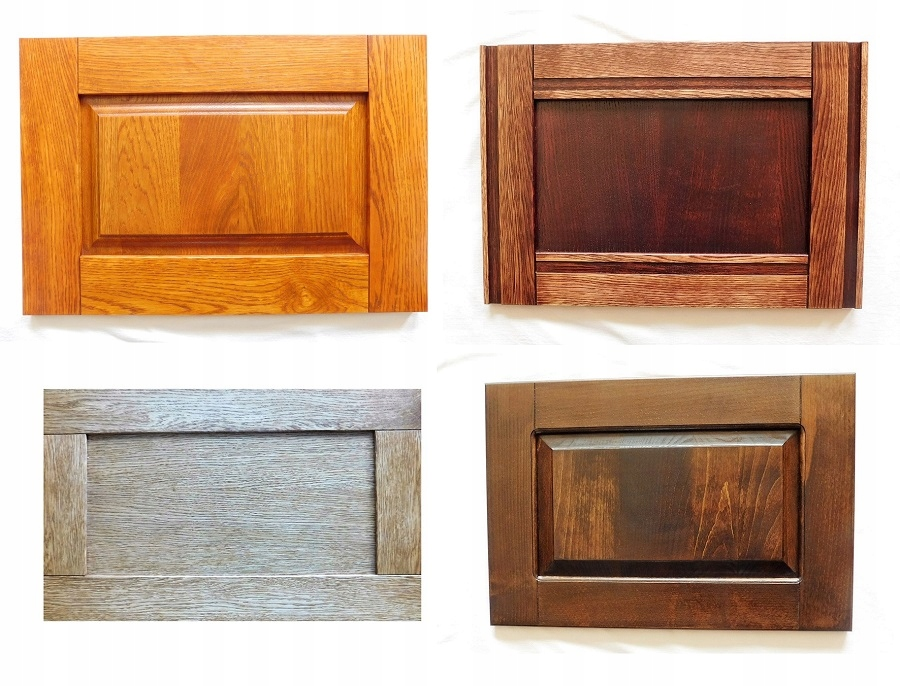 Drevené nábytkové predné časti, dvere, zásuvky do veľkosti