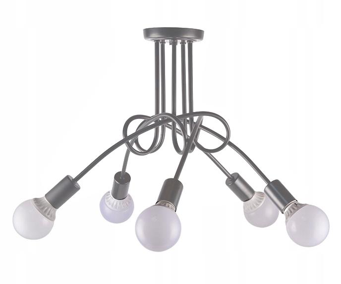 LAMPA SUFITOWA WISZĄCA ŻYRANDOL PARADISE 5 E27 LED