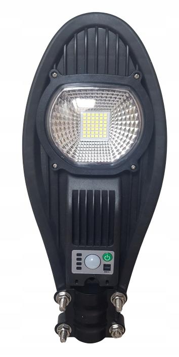 Lampa uliczna LED latarnia solarna 50W + PILOT ! Barwa światła biały zimny