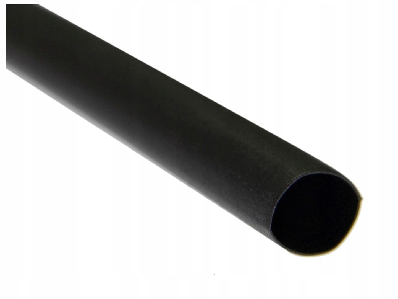 Трубка футболка термоусадочная 4,0/1,0 черная