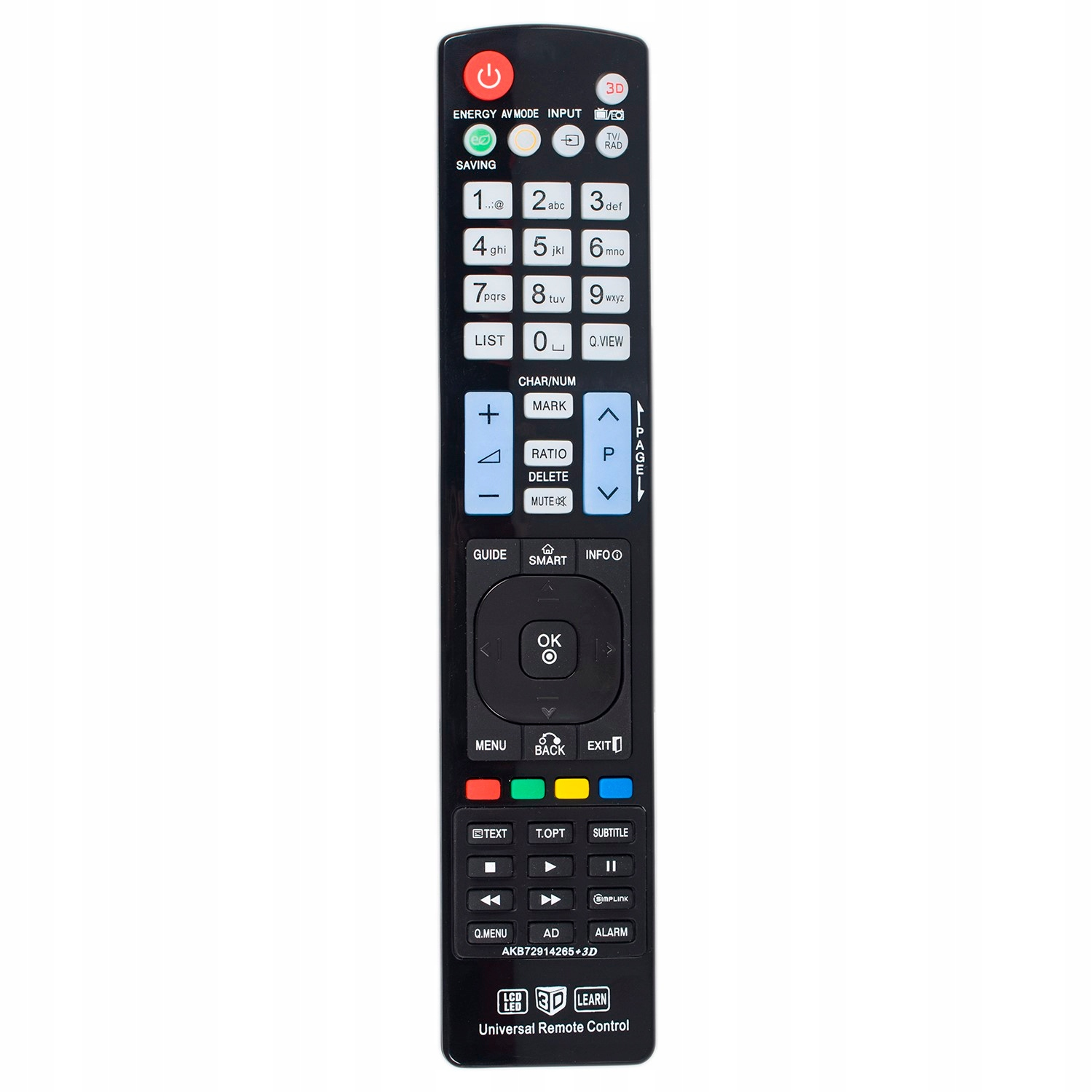Item Remote control for LG Smart TV 3D LED LCD PLASMA UNIVERSAL