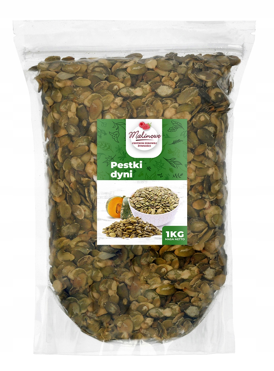 Item Organic PUMPKIN SEEDS in SHELL 1 kg FRESH