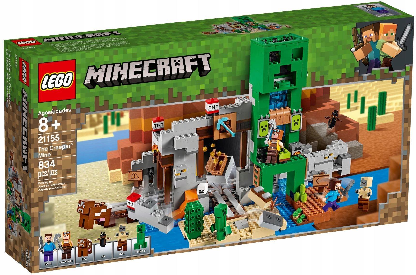 LEGO MINECRAFT Baňa Creeper 21155