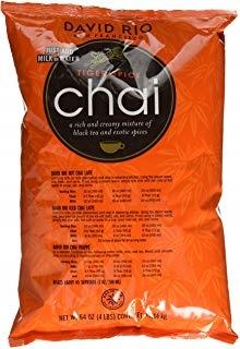 David Rio Tiger Spice Chai Latte z Coffee 1814g