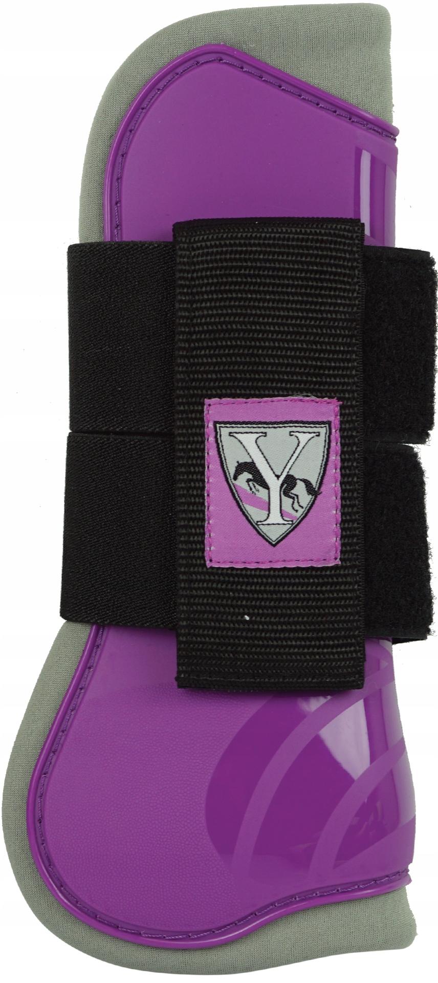 York передние защитники для лошади полный фиолетовый
