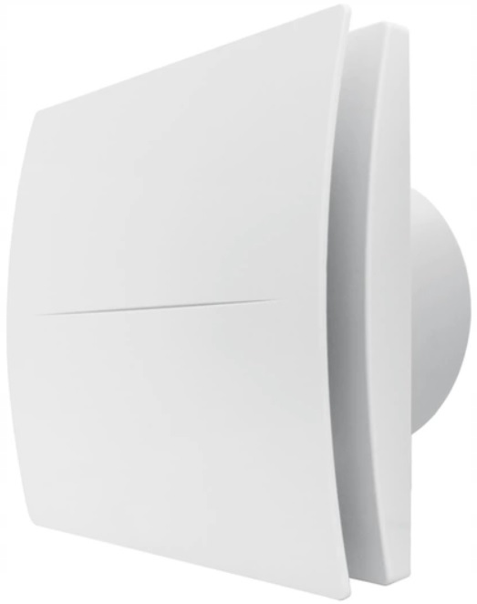 Wentylator łazienkowy EBERG QUAT 120 + klapa cichy