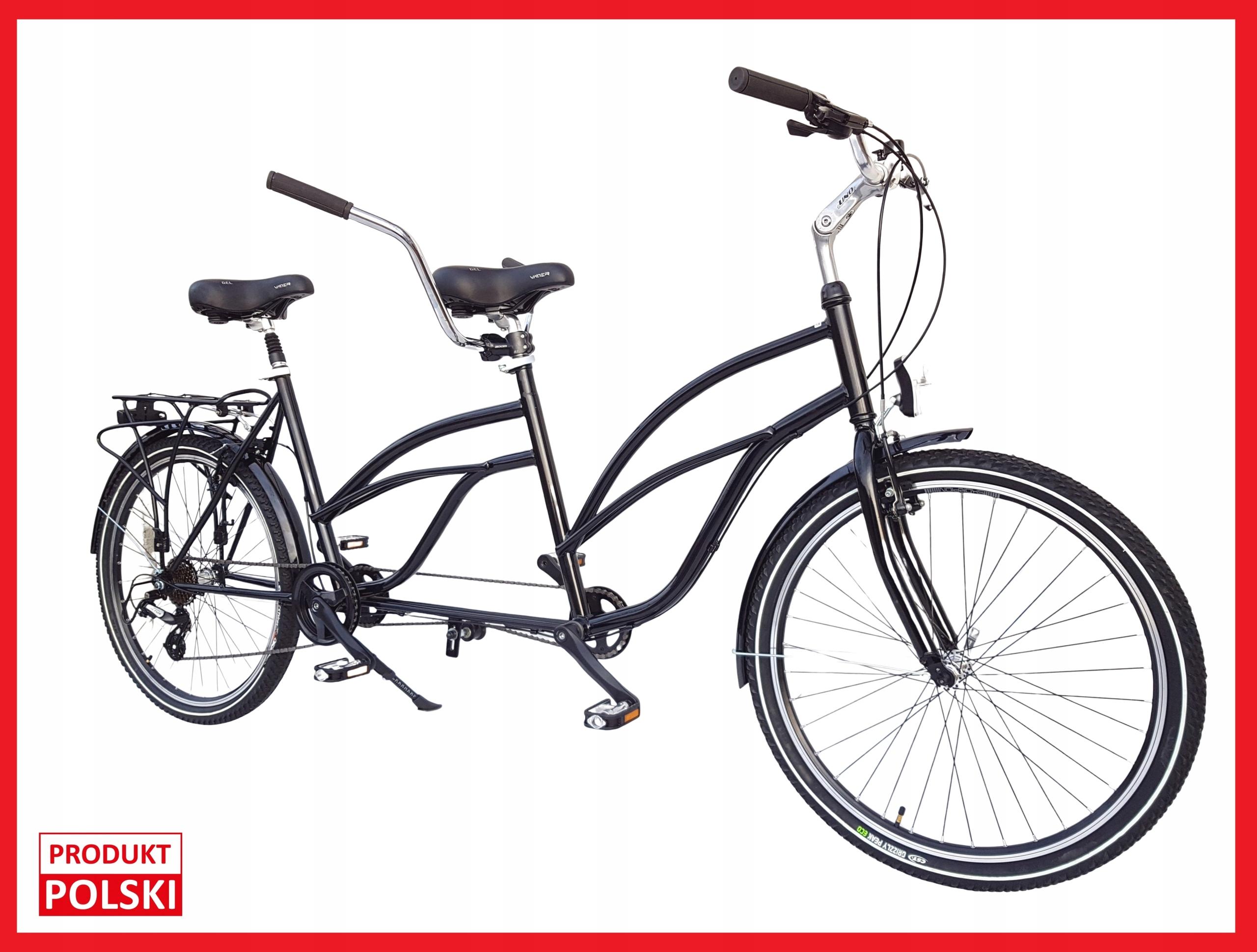 Tandem Bicyklov PREMIUM 26', Nové, POĽSKÝ VÝROBOK