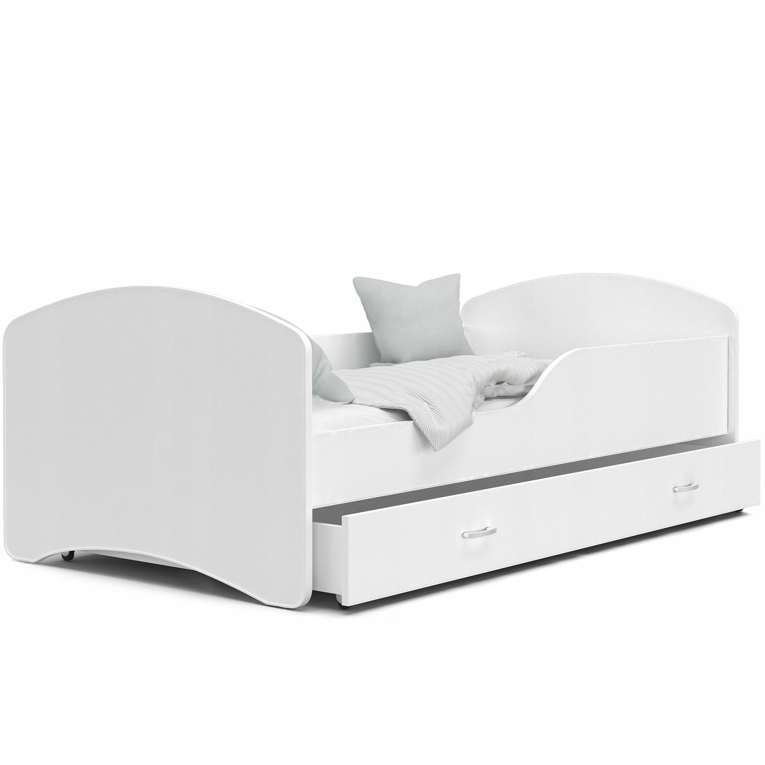 кровать ИГОРЬ белый 180x80 + ящик + МАТРАС