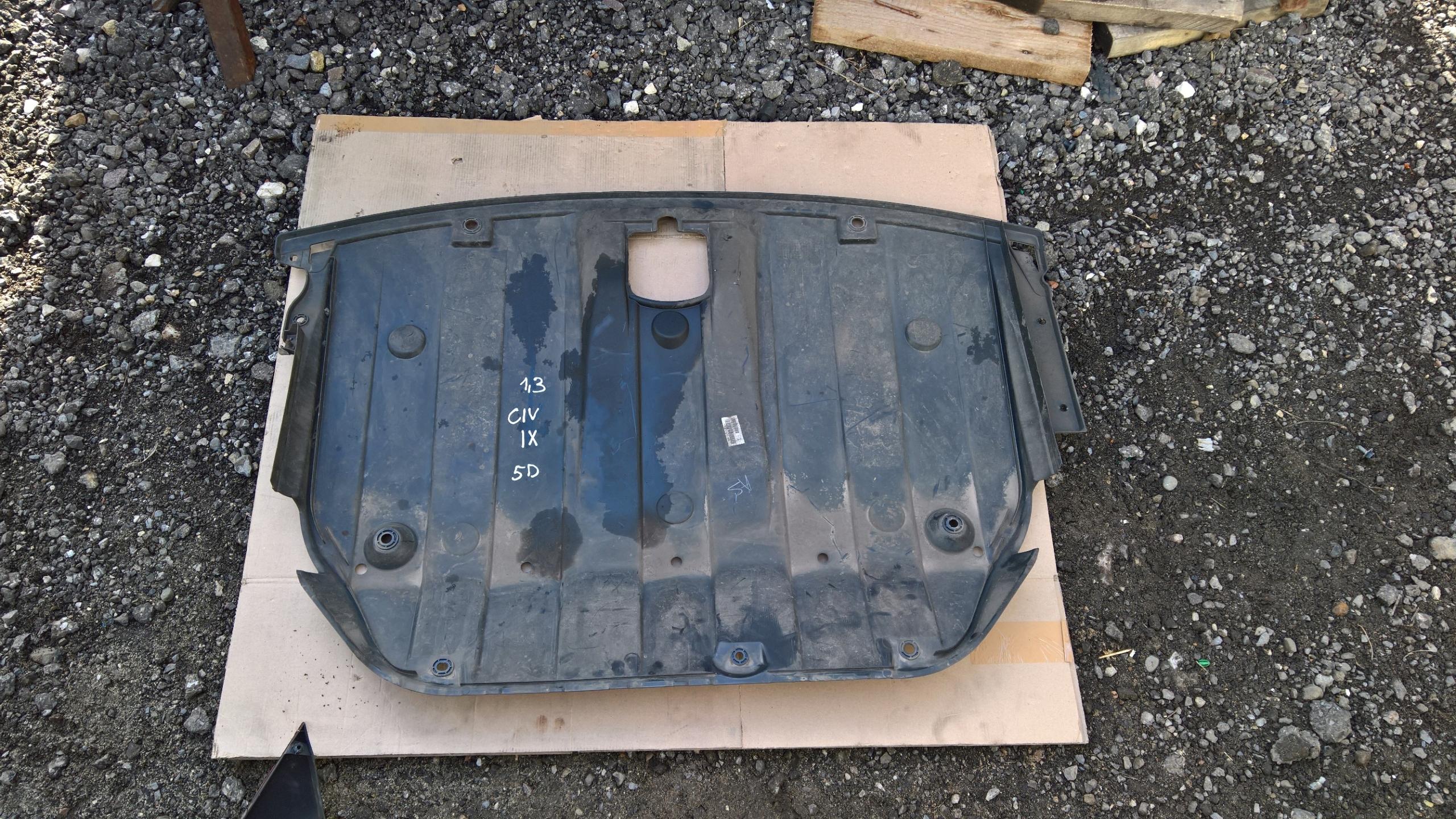 крышка плита шасси honda civic ix 5d 12-17