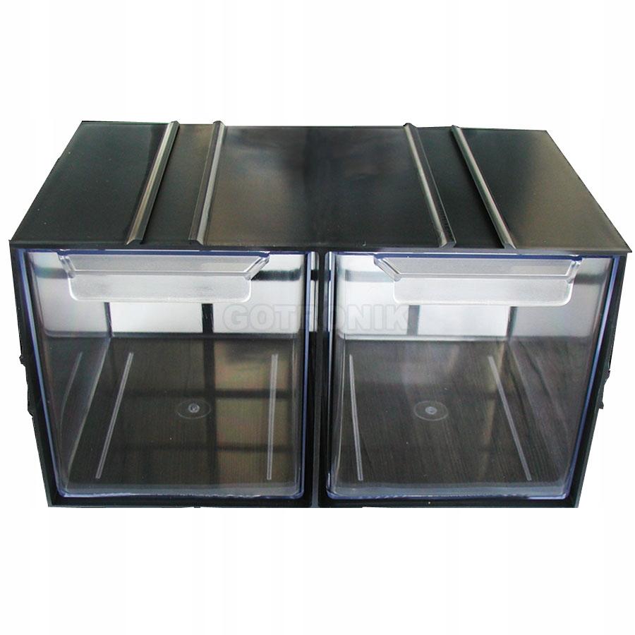 Plastová skrinka PX2 - 2 zásuvky