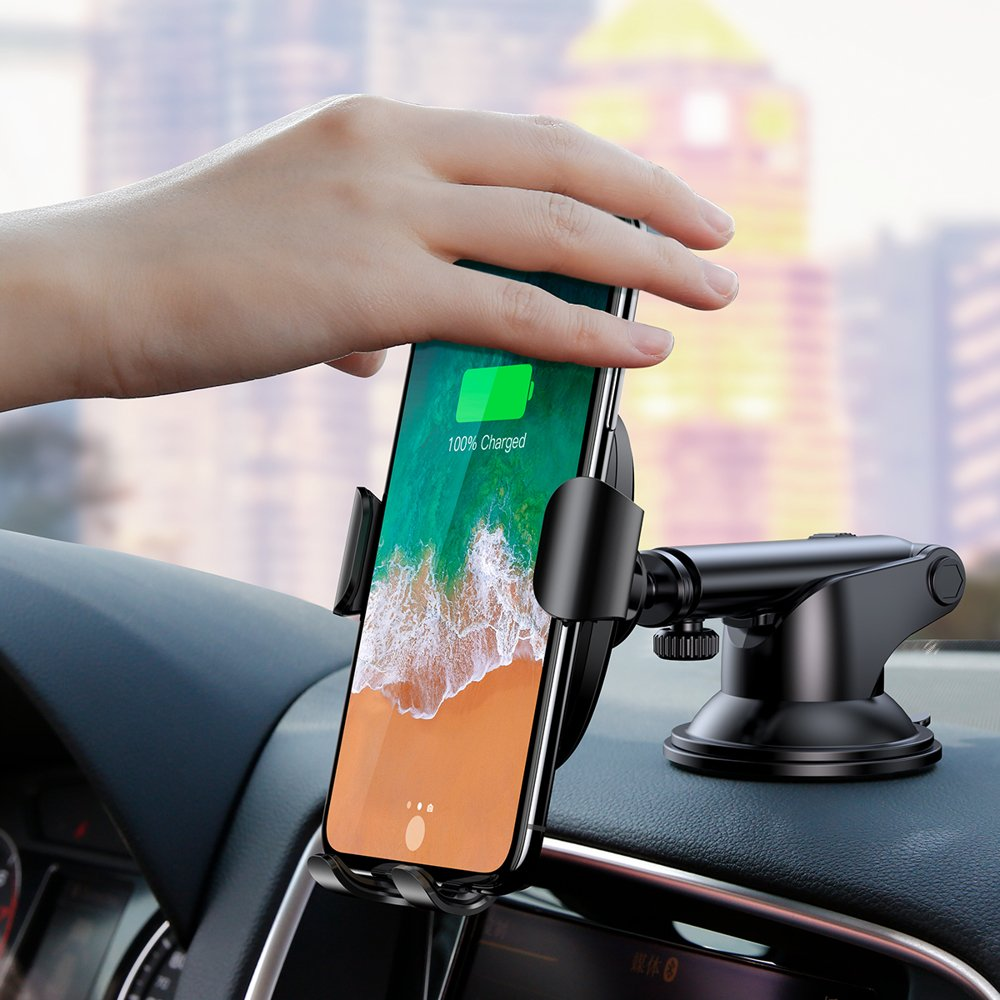 Item BASEUS CAR mount CHARGER QI for SAMSUNG S9