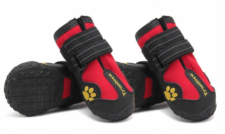 Buty ochronne trekkingowe dla psa Truelove border