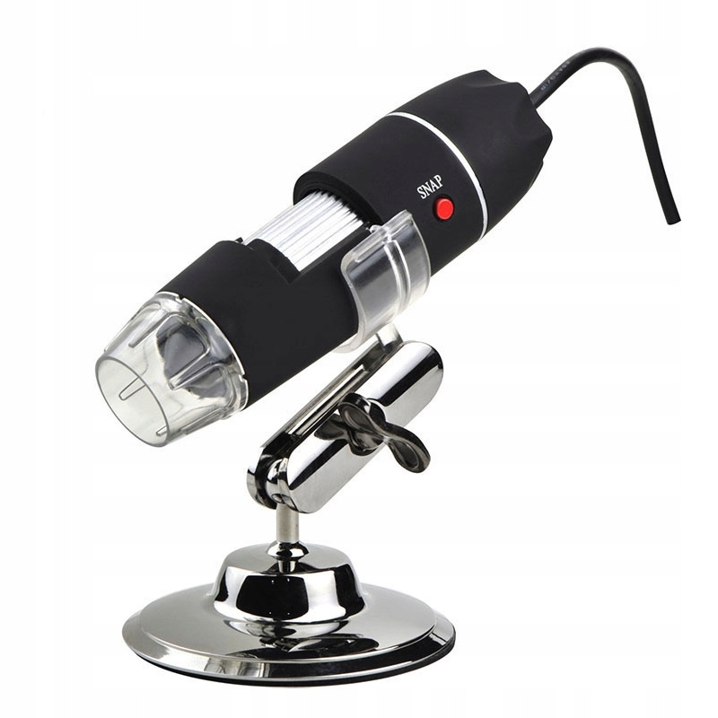 Item MICROSCOPE DIGITAL 2 MP USB 3 LED MAGNIFICATION 1600X