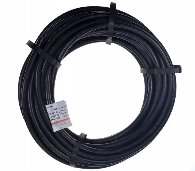 Wąż olejowy gumowy 5,8 x 11,8mm, 20 m (rolka)