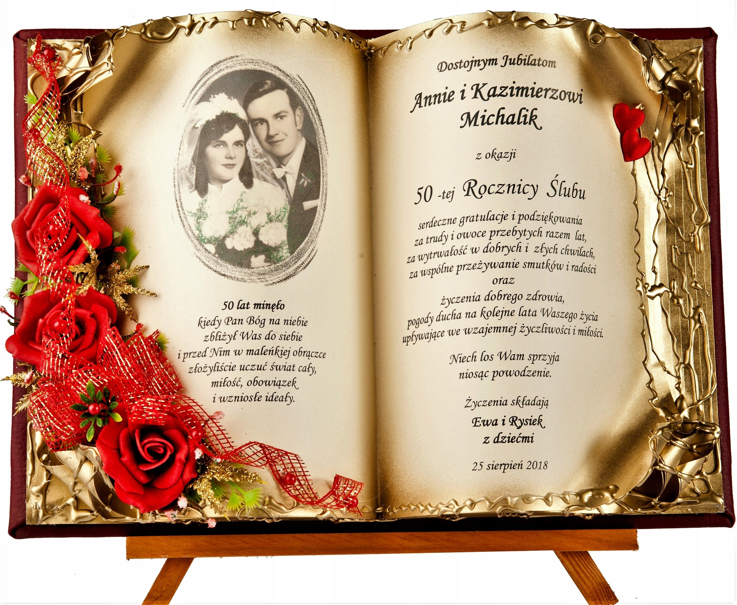 Item Gifts for Anniversary Wedding Anniversary 25 30 40 50