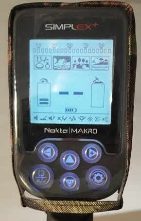 Item Cover for metal Detector Nokta MAKRO Herpes +