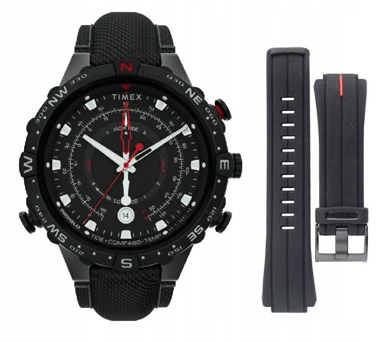 Zegarek męski Timex Kompas Termometr Podświetlenie