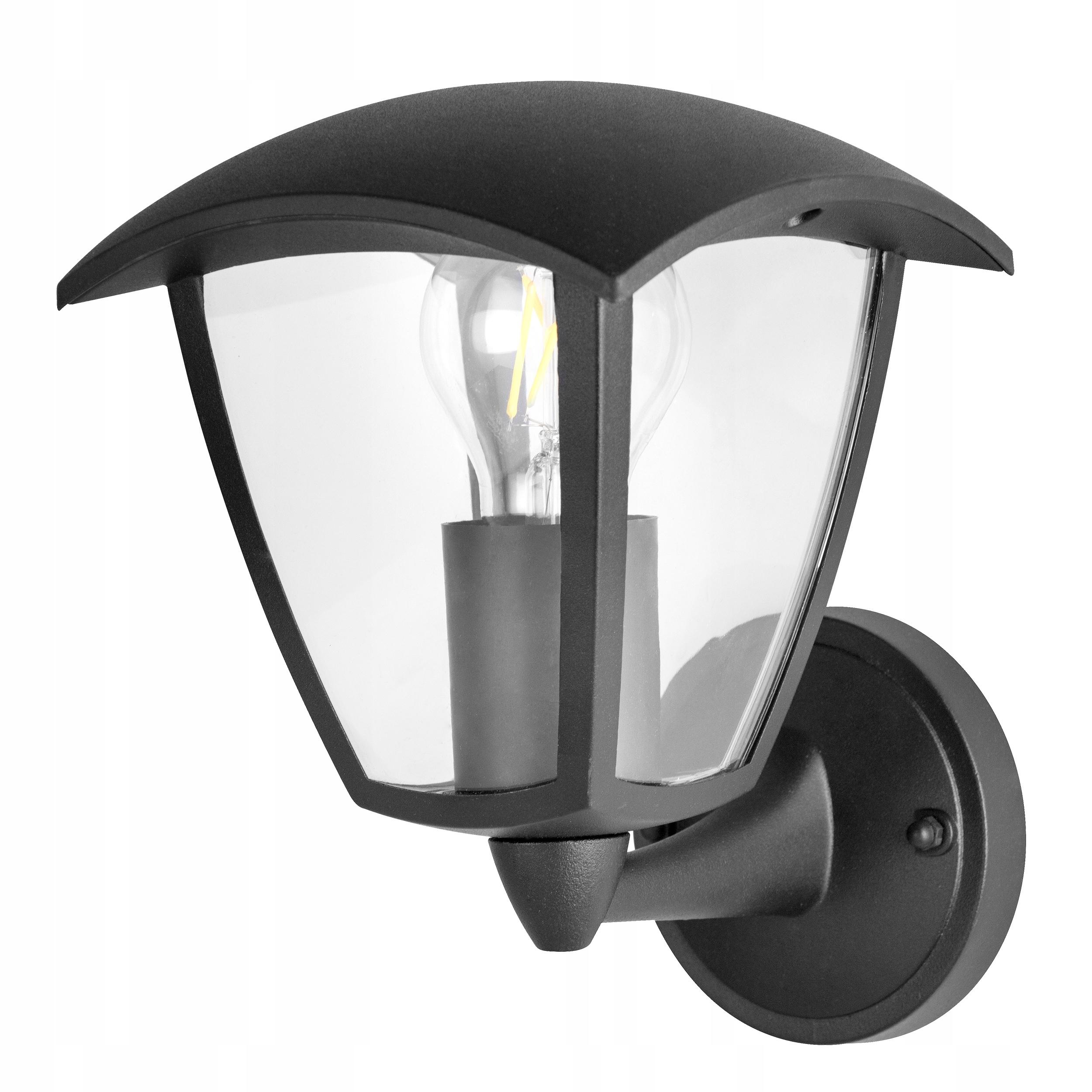 Lampy Záhradné Lampy Vonkajšie Hornej BLACK LED