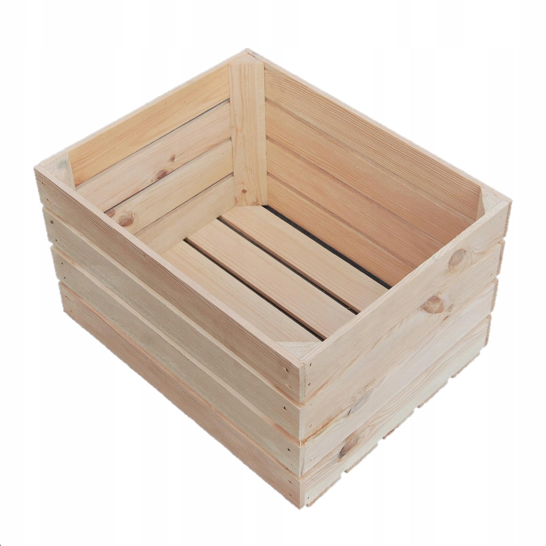 Drevené krabice drevené boxy pre nový nábytok