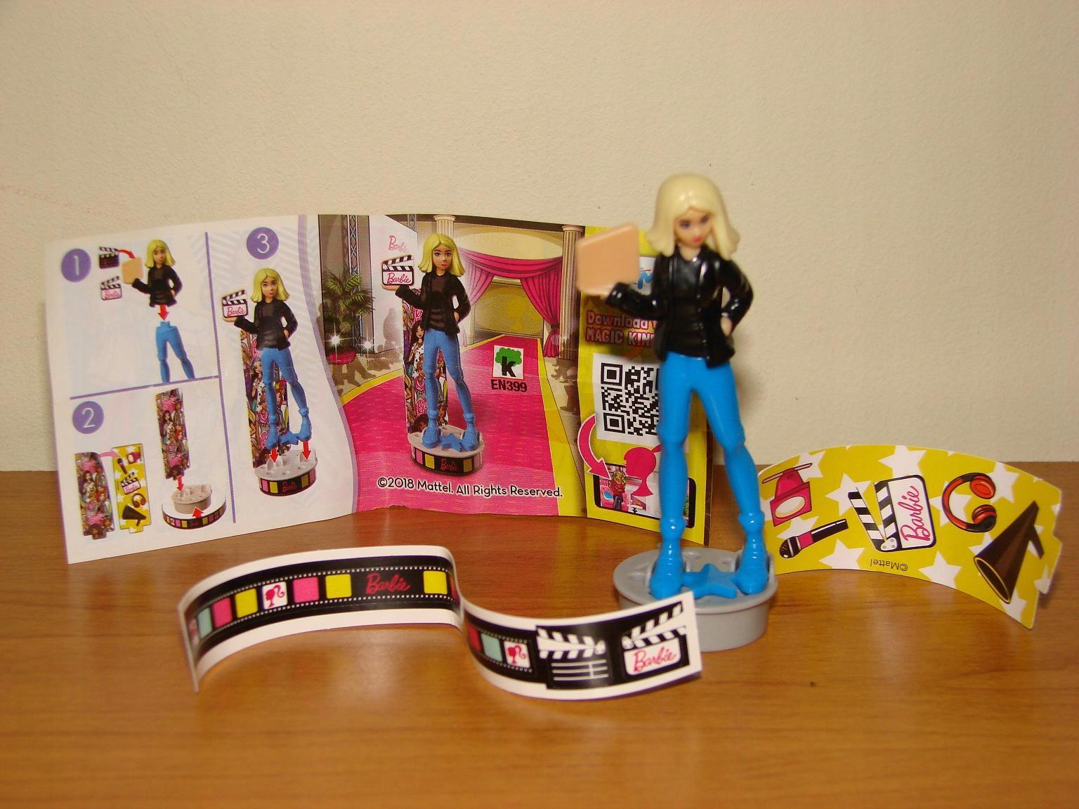 NOWA figurka kinder Barbie ( 2 ) + karteczka