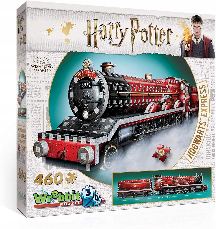 Puzzle Harry Potter 3D - 460 dielov LOKOMOTÍV