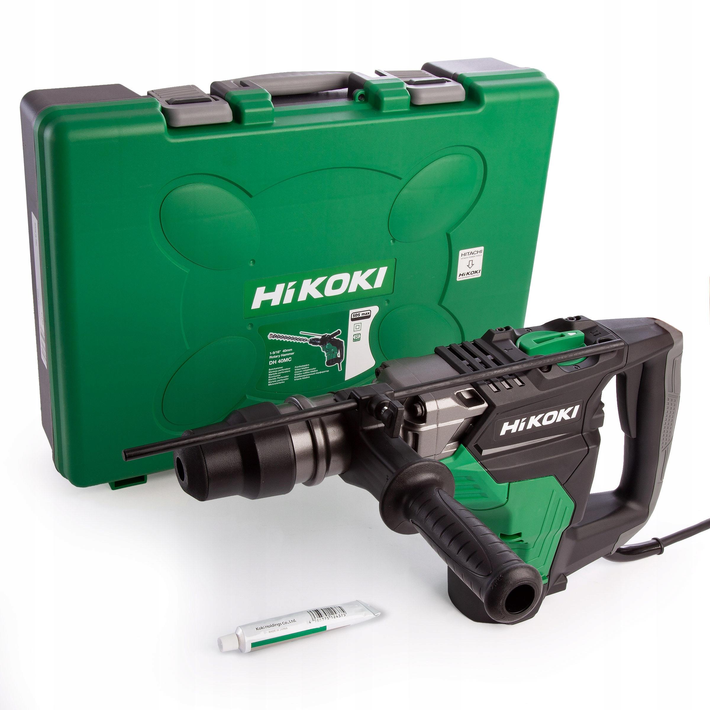 Перфоратор HiKOKI Hitachi DH40MC WS