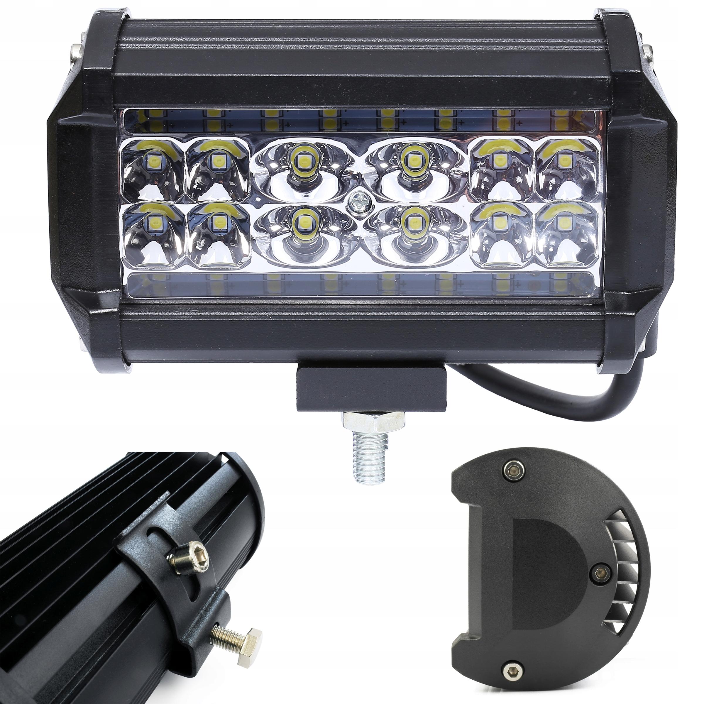 led 84w галоген прожектора лампа рабочая 12v 24v