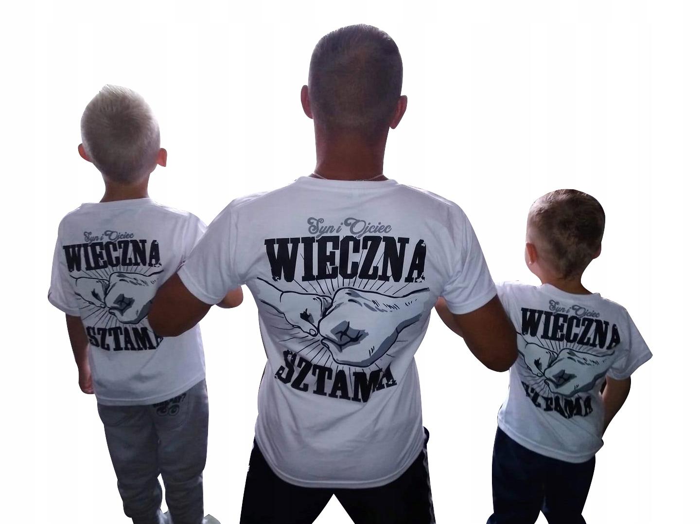 koszulka dla TATY, prezent na dzień ojca, tata i syn przyjaciele
