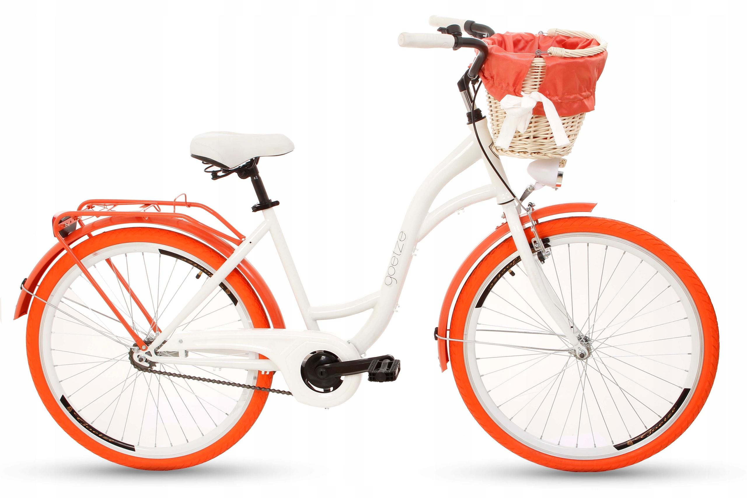 Dámsky mestský bicykel Goetze COLORS 26 košík!  Farba iná