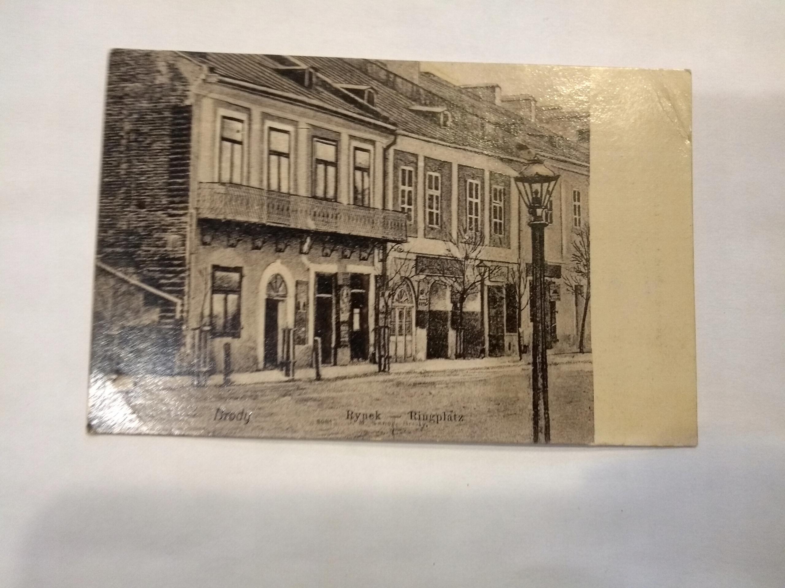 Brody Market 1930 pohľadnice