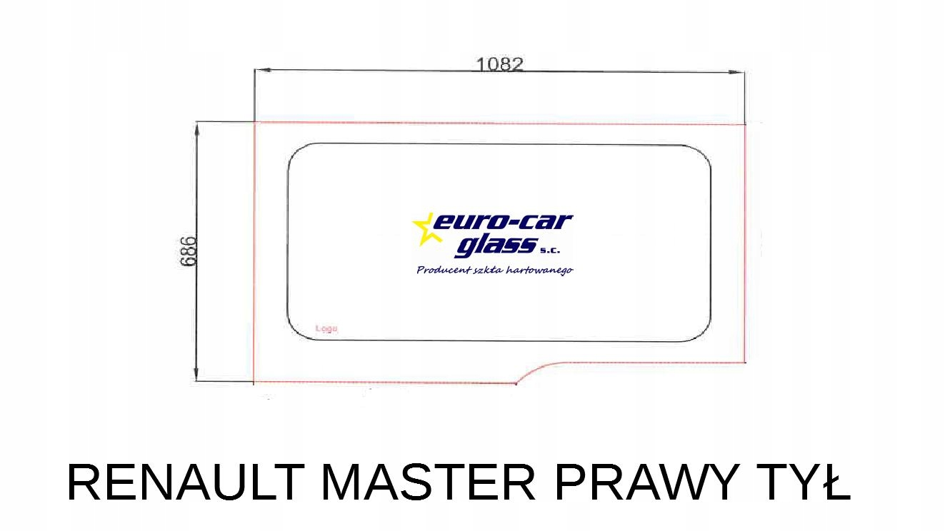 стекла стекло боковая master  movano 2011r-