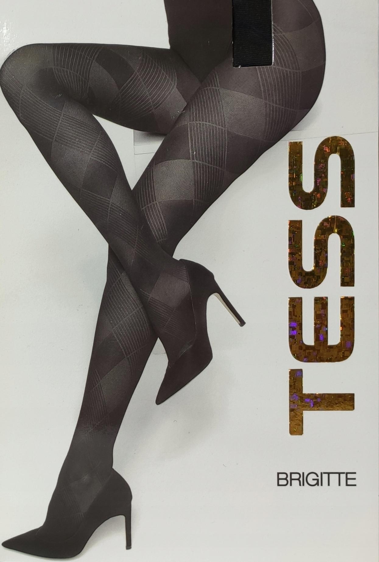 Rajstopy Tess Włoskie Wzorzyste 60 Den r - 4