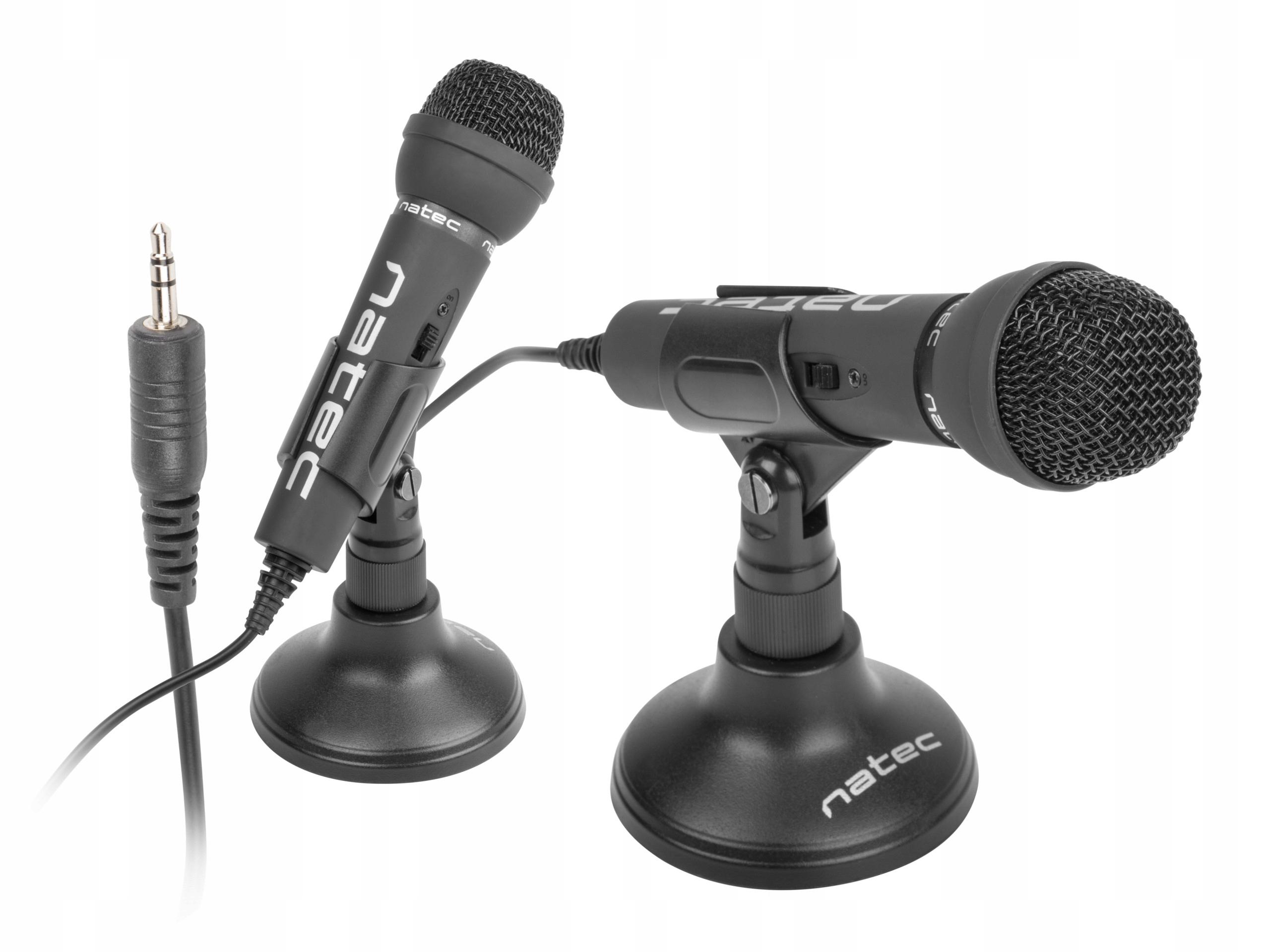 Mikrofón pre Natec ADDER na statív