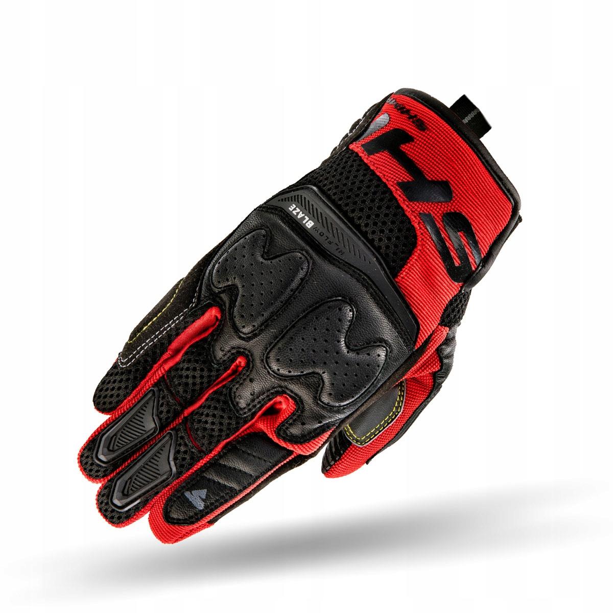 Перчатки летние короткие SHIMA BLAZE RED-красный M
