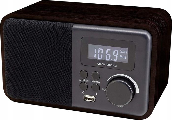 Retro rádio Hi-Fi Soundmaster TR250 USB, Bluetooth