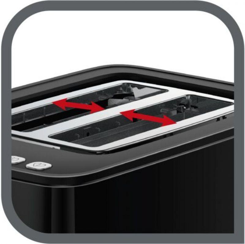 TEFAL Toaster TT6408 Toaster + TEFAL Kettle Цифровой коммуникационный дисплей