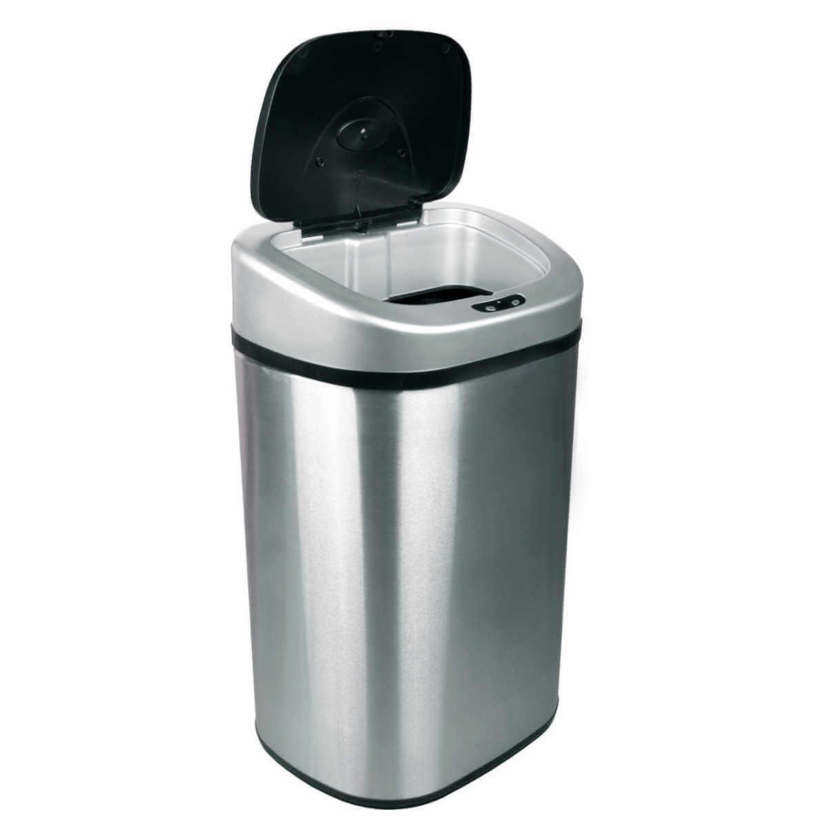 Kosz na śmieci automatyczny 80 litrów stal nierdz.