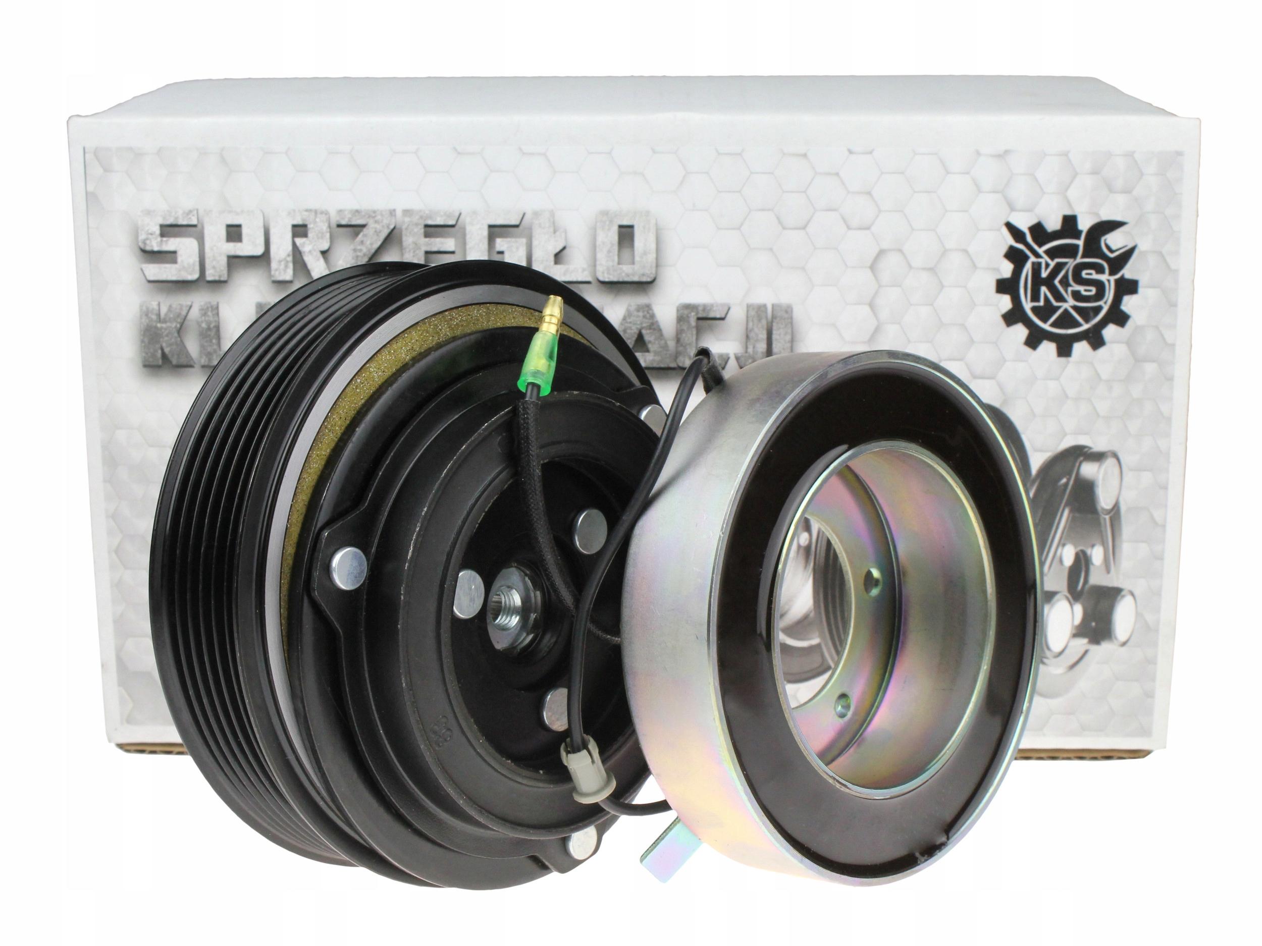 муфта zexel dks-17d 6pk 119mm 35x55x20 volvo