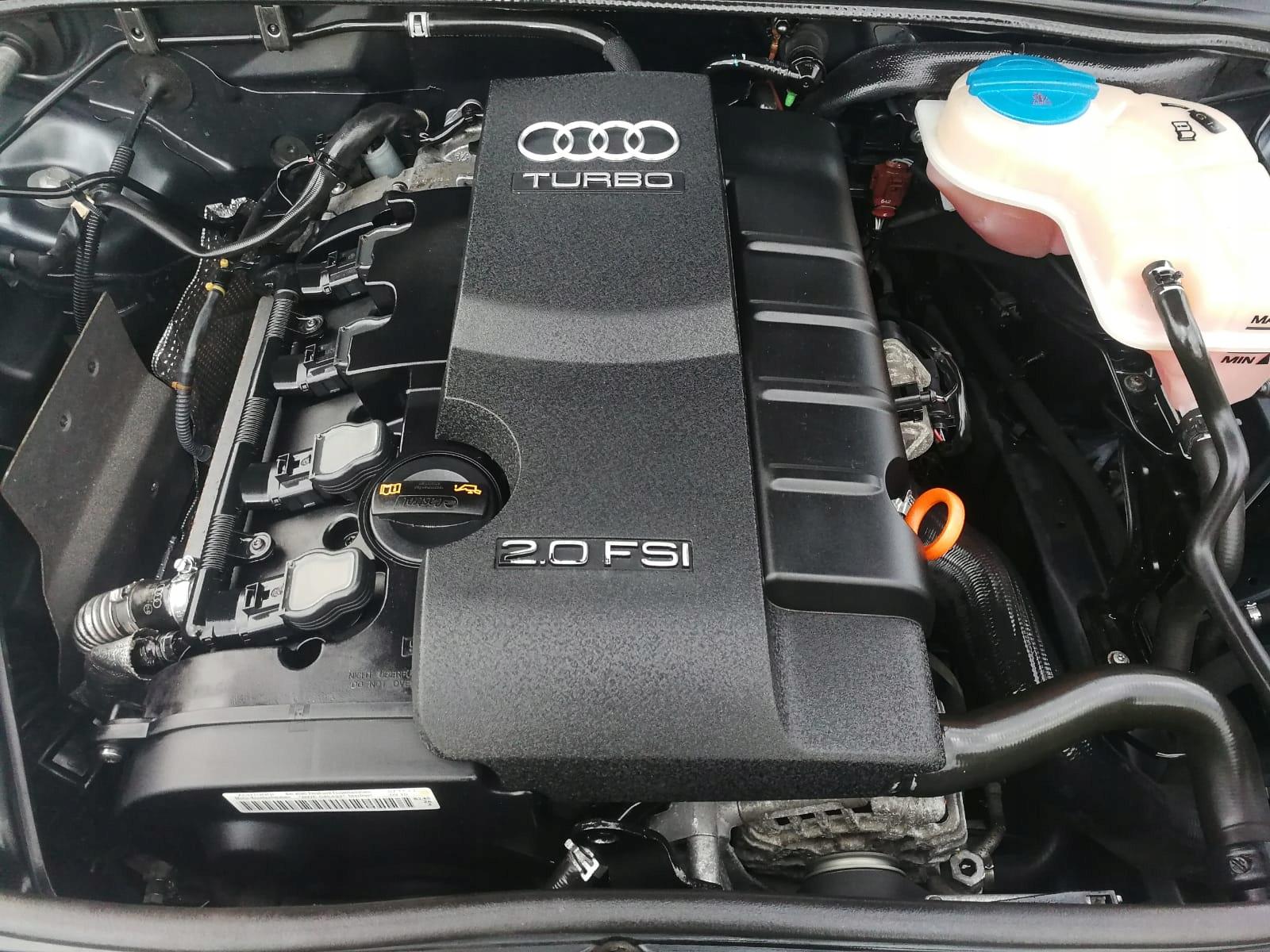 audi a4 a6 vw полный двигатель 20 tfsi bwe 200 км