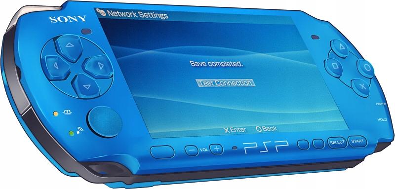Купить НОВАЯ КОНСОЛЬ PSP 3004 слим VIBRANT Blue ГАРАНТИЯ на Eurozakup - цены и фото - доставка из Польши и стран Европы в Украину.